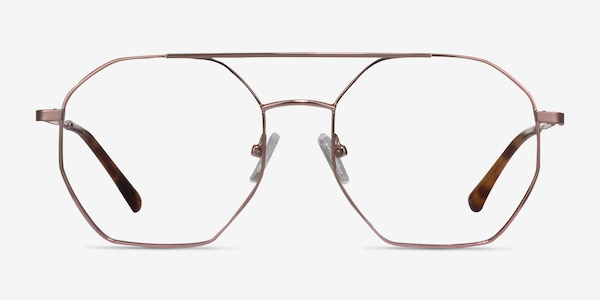 Eight Rose Gold Métal Montures de Lunette de vue