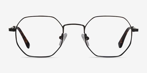 Soar Black Metal Eyeglass Frames