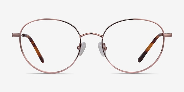 Twirl Rose Gold Metal Eyeglass Frames