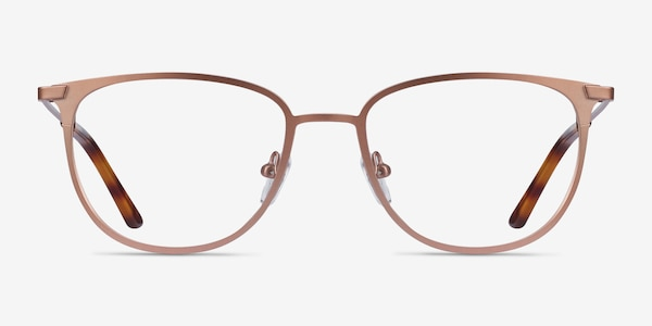 Vita Rose Gold Metal Eyeglass Frames