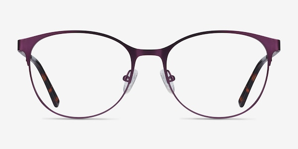 Kali Purple Metal Eyeglass Frames