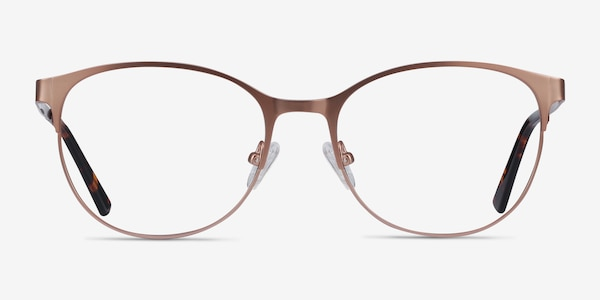 Kali Rose Gold Metal Eyeglass Frames