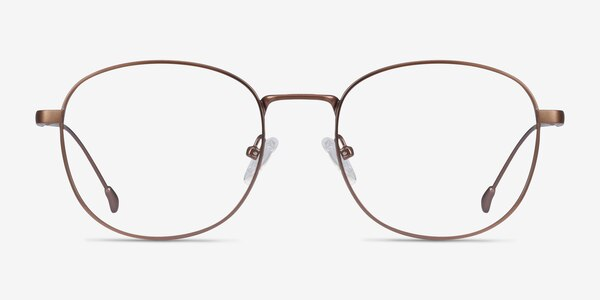Vantage Matte Pink Metal Eyeglass Frames