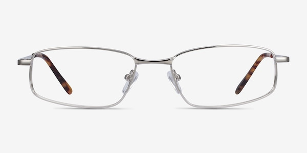 Destined Silver Metal Eyeglass Frames