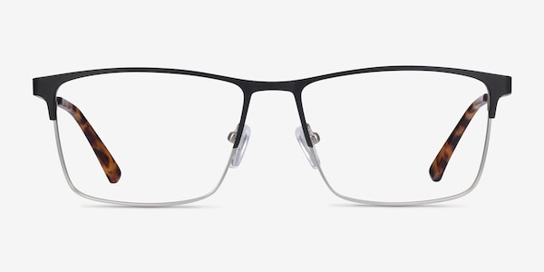 Edito Black Metal Eyeglass Frames