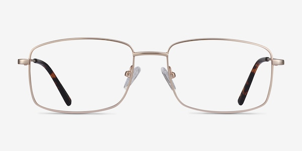 Onex Gold Metal Eyeglass Frames