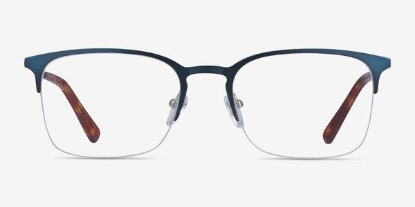 Vimy Blue Metal Eyeglass Frames
