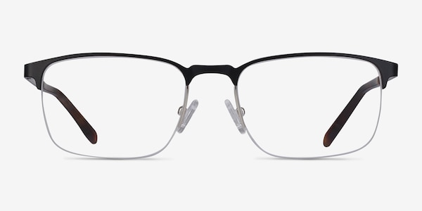 Valery Black Metal Eyeglass Frames