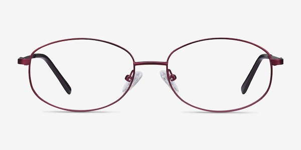 Embrace Purple Metal Eyeglass Frames