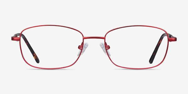 Path Burgundy Metal Eyeglass Frames