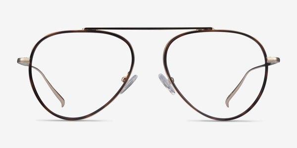 Cana Tortoise  Gold Metal Eyeglass Frames
