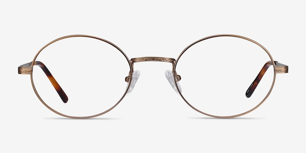Equinox Bronze Metal Eyeglass Frames