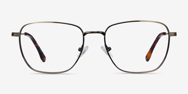 Throne Bronze Metal Eyeglass Frames