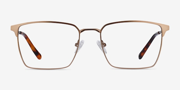 Metro Coffee Metal Eyeglass Frames