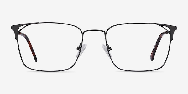 Emett Black Metal Eyeglass Frames
