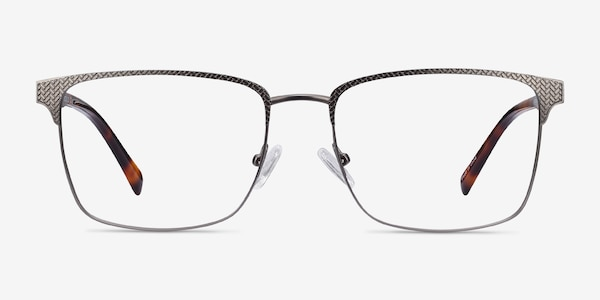 Capra Gunmetal Acetate-metal Eyeglass Frames