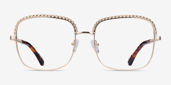 Astoria Gold Metal Eyeglass Frames