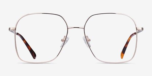 Roman Gold Metal Eyeglass Frames