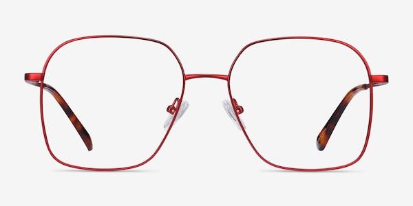 Roman Red Metal Eyeglass Frames