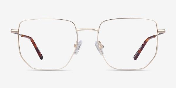 Rhys Gold Metal Eyeglass Frames