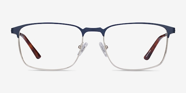 Oswald Navy Metal Eyeglass Frames