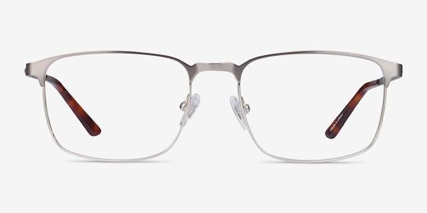 Oswald Gunmetal Metal Eyeglass Frames