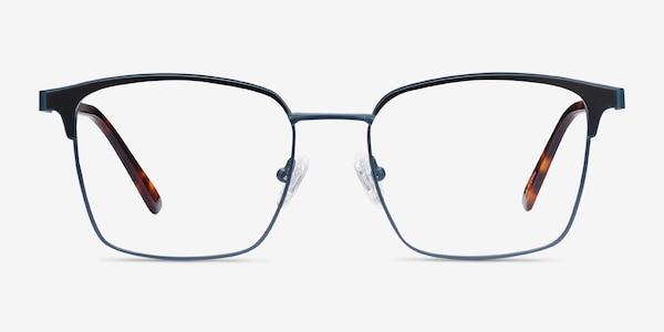 Demy Navy & Black Metal Eyeglass Frames