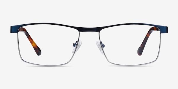 Julian Blue Metal Eyeglass Frames