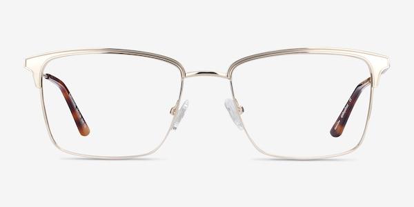 Nathaniel Gold Metal Eyeglass Frames