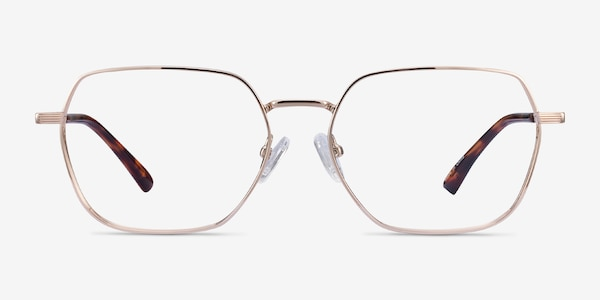 Marlow Gold Metal Eyeglass Frames