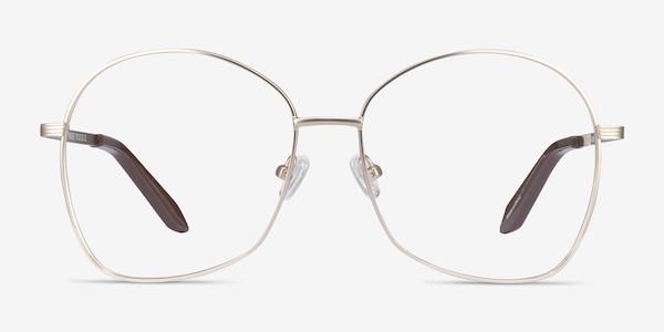 Bridget Gold Metal Eyeglass Frames