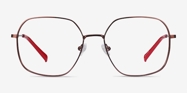 Reality Copper Metal Eyeglass Frames