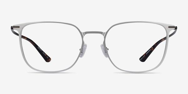 Density Light Silver & Gunmetal Aluminium-alloy Eyeglass Frames