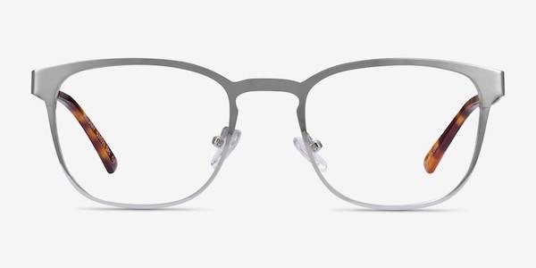Bellamy Silver Metal Eyeglass Frames