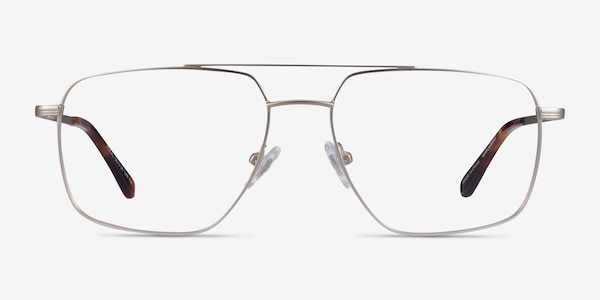 Focal Silver Metal Eyeglass Frames