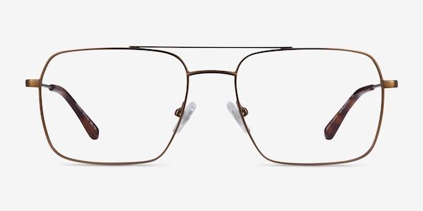 Aerial Bronze Metal Eyeglass Frames