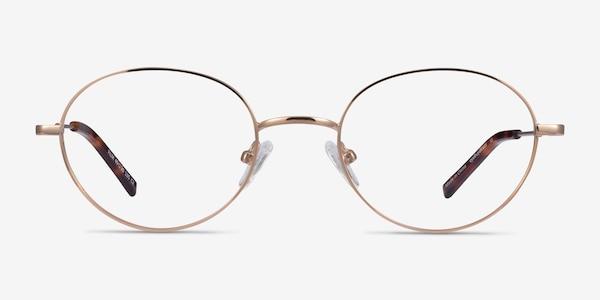 Film Rose Gold Metal Eyeglass Frames
