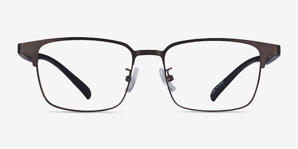 Jimy Matte Gunmetal Black Plastic Eyeglass Frames