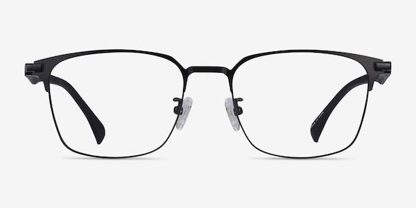 Sapporo Black Plastic Eyeglass Frames
