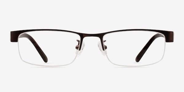 Beckett Coffee Metal Eyeglass Frames
