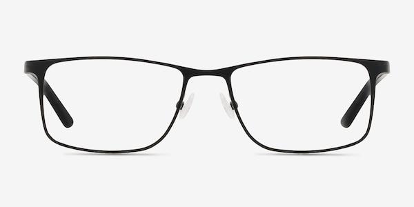 Clinton  Black  Metal Eyeglass Frames