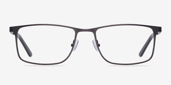 Clinton Gunmetal Metal Eyeglass Frames