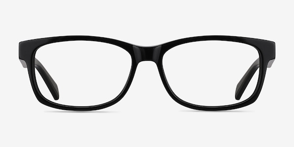 Kyle Black Acetate Eyeglass Frames