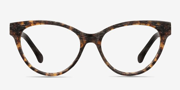 Jane Birkin Brown/Tortoise Acétate Montures de lunettes de vue