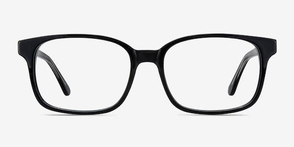 Claudia Black Acetate Eyeglass Frames