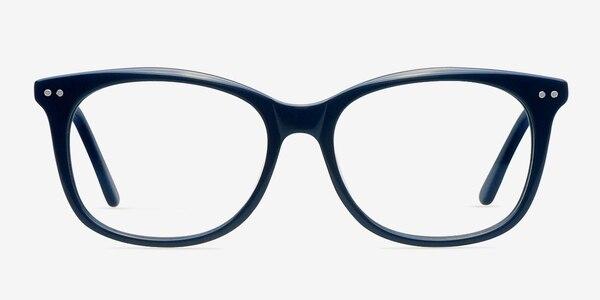 Brittany Navy Acetate Eyeglass Frames