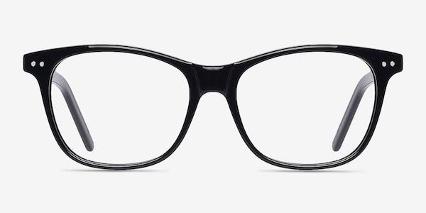 Almost Famous Black Acetate Eyeglass Frames