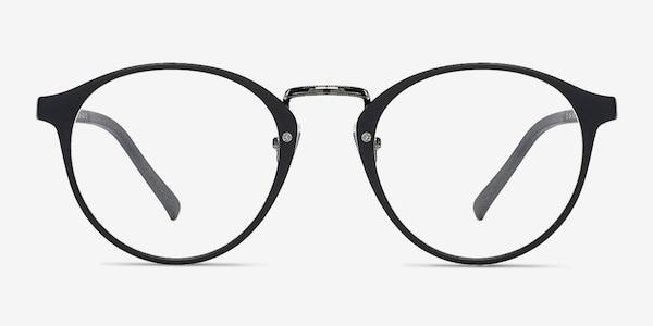 Chillax Matte Black/Gunmetal Plastic Eyeglass Frames