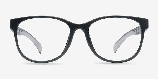 Warren  Black  Plastic Eyeglass Frames
