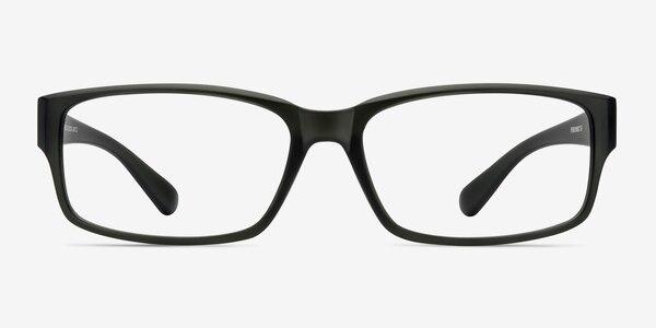 Apollo Matte Gray Plastic Eyeglass Frames